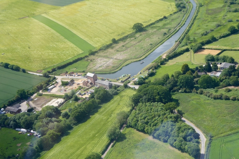 North Walsham to Dilham Canal - Aerial